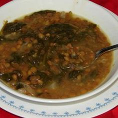 Adas bil Hamod (Lebanese Lentil Lemon Soup): This is a popular, healthy lentil dish that can be found all over the Middle East.