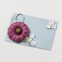 kotonoha+ bloom ガーベラ 紫【C】 #封筒 #ペーパークラフト #封筒女子部 #プレ花嫁 #花 #ハレの日