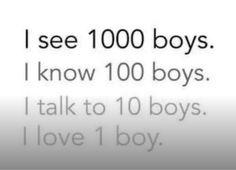 i know way more boys...