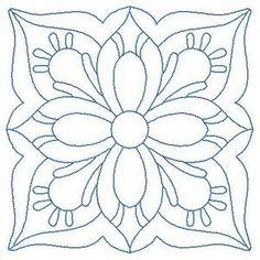 Одеяло Вереницы 2 - Бесплатный мгновенный машина вышивки