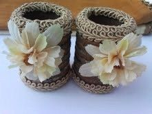 Flower Napkin Ring Floral Designer Napkin by HauteInteriorsLLC, $24.00