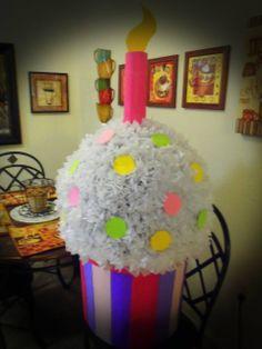 Cupcake Birthday Pinata
