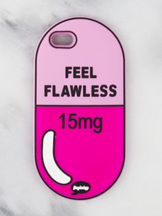 Feel Flawless iPhone Case.