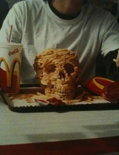 I ABSOLUTELY ABHOR MCDONALDS......Their french fries are so filled with weird stuff that they will not even rot.  McDonalds is part of a secret society that is trying to destroy America through obesity...and it is working.  SH