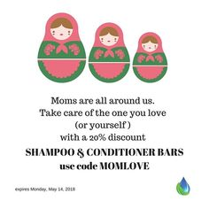 Let's celebrate lots of Moms this weekend! <3
