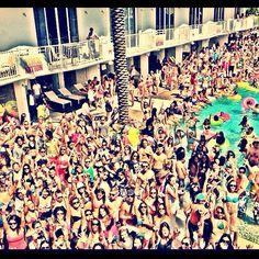 vs pool party, spring break miami, i wanna go!