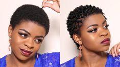+ using a sponge to twist my hair (TWA) 3 months post big chop! Natural Hair Short Cuts, Short Natural Haircuts, Tapered Natural Hair, Short Curly Hair, Natural Hair Styles, Tapered Twa, Curly Fro, Big Chop Hairstyles, Twa Hairstyles