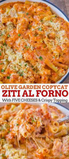 Olive Garden Ziti Al Forno