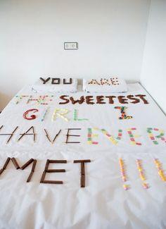 Deko Idee Valentinstag Botschaft schreiben