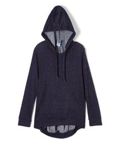 Look what I found on #zulily! Navy Hi-Low Hoodie - Girls #zulilyfinds