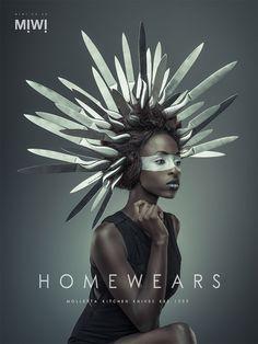 Homewears: Miwi Shop Campaign by Osborne Macharia | Inspiration Grid | Design Inspiration