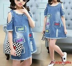 Fashion Wear For Toddlers Baby Girl Dress Patterns, Dresses Kids Girl, Kids Outfits, Diy Jeans, Little Boy Fashion, Kids Fashion, Fashion Wear, Sewing Kids Clothes, Online Shopping Clothes