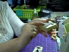 How to Unmount Wooden Rubber Stamps - for better storage and work with clear acrylic blocks