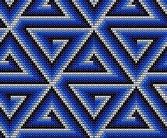 Peyote Stitch Patterns, Beading Patterns, Tapestry Crochet Patterns, Quilt Patterns, Cross Stitch Bookmarks, Cross Stitch Embroidery, Maori Patterns, Hand Embroidery Flowers, Bargello