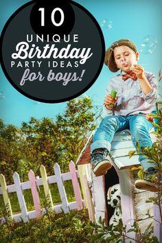 Unique Birthday Party Ideas for Boys