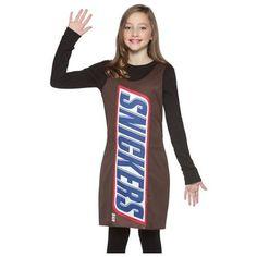 Candy Bar Halloween Costumes | Snickers Candy Bar Dress TWEEN Girls Halloween Costume