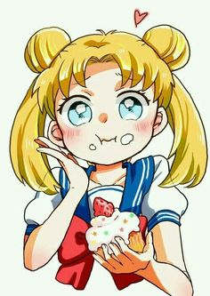 Moonlight - Sailor Moon Tsukino Usagi food