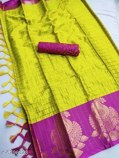 Sarees  Siya Attractive Cotton silk  Sarees  Saree Fabric: Cotton Silk Blouse: Separate Blouse Piece Blouse Fabric: Silk Multipack: Single Sizes:  Free Size (Saree Length Size: 5.5 m Blouse Length Size: 0.8 m) Country of Origin: India Sizes Available: Free Size   Catalog Rating: ★4 (420)  Catalog Name: Abhisarika Petite Sarees CatalogID_1084456 C74-SC1004 Code: 026-6796323-4161