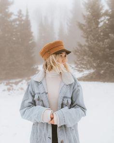 In a winter wonderland ❄️