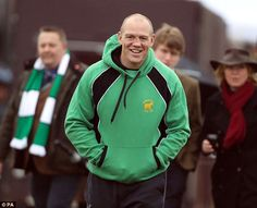 Sports star: The former England captain joined the club after retiring from professional rugby. Mike Tindall, Royal Engagement, Princess Anne, Sports Stars, Second Child, Duke And Duchess, British Royals, Rugby, Zara