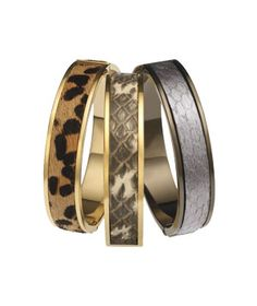 Glamnoir Bangles  Tired of your everyday watch? Give it sassy new friends to hang with.