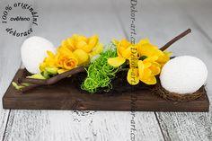 Luxusní stylová velikonoční dekorace. Serving Bowls, Breakfast, Tableware, Food, Design, Morning Coffee, Dinnerware, Tablewares, Essen
