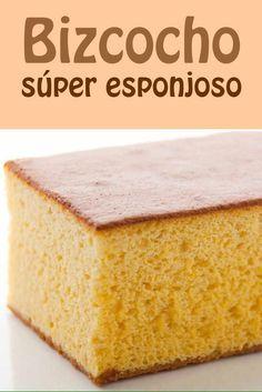#bizcocho #esponjoso #receta
