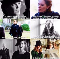 Zelena clearly shipping captainswan / by oncerscene (instagram)