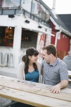 Amanda & Stephen Oast House Brewery Niagara-on-the-Lake Engagement — Hilite Pictures Large Screen Tvs, Live Music, Brewery, Engagement Session, Board Games, Amanda, Walking, Felt, Joy