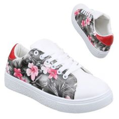 floral trainers comfort - fashion - trendy - style - purple reign Trendy Style, Trendy Fashion, Floral Trainers, Purple Reign, Comfortable Fashion, Baby Shoes, Women Wear, Shopping, Style Fashion
