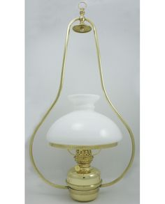 Lampe suspension électrique abat jour blanc laiton poli Yandex, Lighting, Home Decor, Polished Brass, Lantern, Alcohol, Decoration Home, Room Decor, Lights