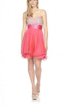 Sweetheart Short Polyester Natural Zipper Formal Dresses gjea71459