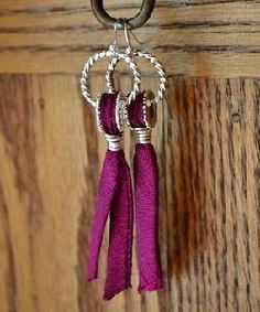 Look What Wire Can Do: Make Quick  Easy Wire and Ribbon Earrings - Jewelry Making Daily