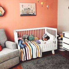 Feelin Just Peachy Today O Babyletto Hudson Toddler Bed
