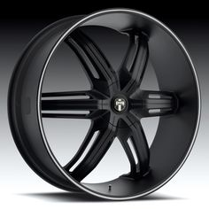 Custom Red and Black Rims | ... Black Wheels - DUB ALLOYS by Footworks Custom Wheels & Auto Acc