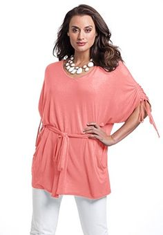 12-32 Plus Size Batwing Top image