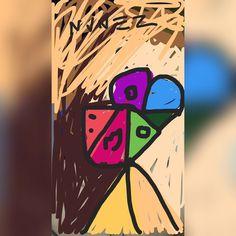 Lol Me^^^ 2016. Chris A Nunez.  #NVNEZ #cubism #portrait #digital #art #draw…
