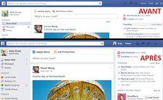 Facebook dévoile une nouvelle interface