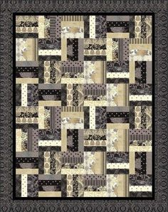 11 Rail Fence Quilt Patterns – A Couple Are Even for Jelly Rolls! | Quilt Show News