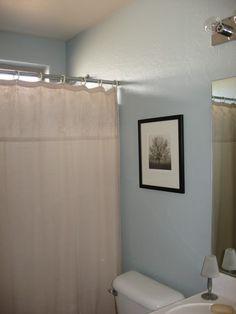 Pennystone Guest Bathroom Paint (Benjamin Moore Beach Glass)