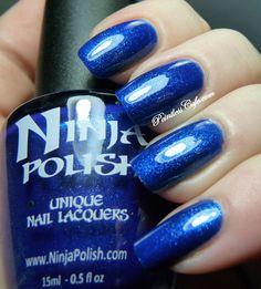 "Ninja Polish ""Sapphire Dreams"" from the Gemstone Dreams collection"