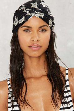 Brightest Morning Star Head Wrap - Hair + Hats | Beach | The Swim Shop | Swim Shop | Prints