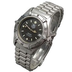 TAG Heuer 2000 Professional 200M Date Dive Watch Quartz Stainless 962.013