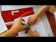 YAPRAK İZDÜŞÜMLERİ – Montessori Etkinlikleri