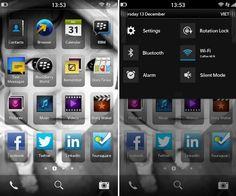 In rete trapelano nuovi screenshot di BlackBerry 10, mostrando il nuovo BlackBerry Hub, le applicazioni dei social network, e la barra delle notifiche.
