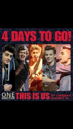 4 days to go! Can't wait!! :D :D