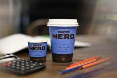 Caffe Nero Cup hard at work