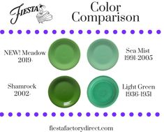 Shop for all your favorite colors and styles of Fiestaware® dinnerware and other Fiesta® accessories, direct from the factory. Vintage Dishware, Vintage Dinnerware, Vintage Kitchen, Vintage Pyrex, Fiesta Ware Colors, Fiesta Ware Dishes, Fiesta Kitchen, Tent Sale, Coastal Colors