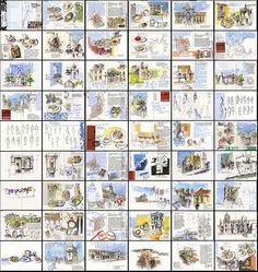 totally amazing travel sketchbook by Liz Steel