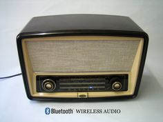 Bluetooth Wireless Speaker  Repurposed Vintage by BoscaBosca